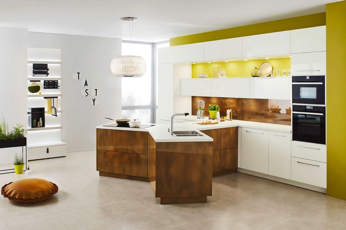 island kitchen layout