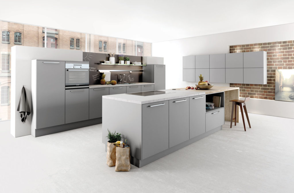 island kitchen layout