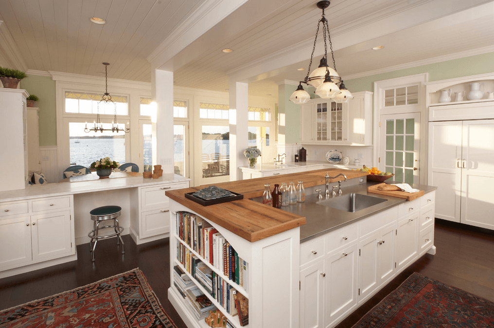 Island Kitchen Layout Kitchens With Cooking Island