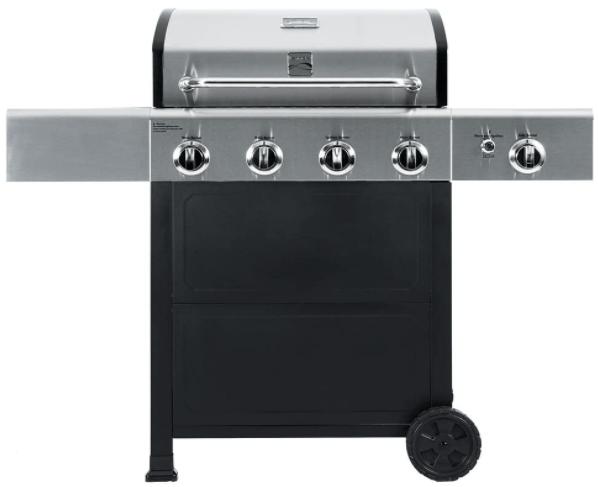 Kenmore PG-40406SOL Outdoor Patio 4 Burner Gas Grill