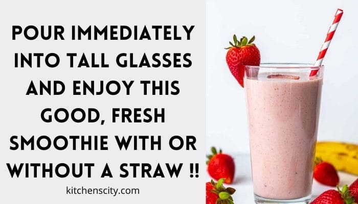 How To Make A Strawberry Banana Smoothie With Almond Milk